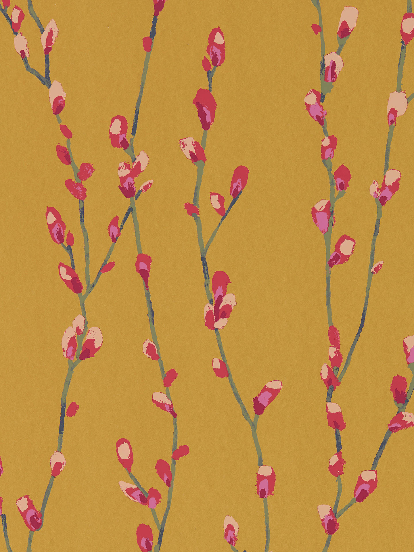 Buy Harlequin Standing Ovation Salice Paste the Wall Wallpaper, Fuchsia / Sunshine 111473 Online at johnlewis.com