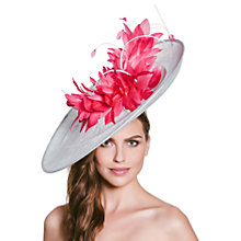 Buy Vixen Millinery Ellie Disc and Feathers Occasion Hat Online at johnlewis.com
