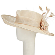 Buy Vixen Millinery Emily Disc and Lace Occasion Hat Online at johnlewis.com