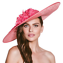 Buy Vixen Millinery Aria Disc and Lace Occasion Hat Online at johnlewis.com