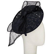 Buy John Lewis Hope Lace Disc Bow Occasion Hat Online at johnlewis.com