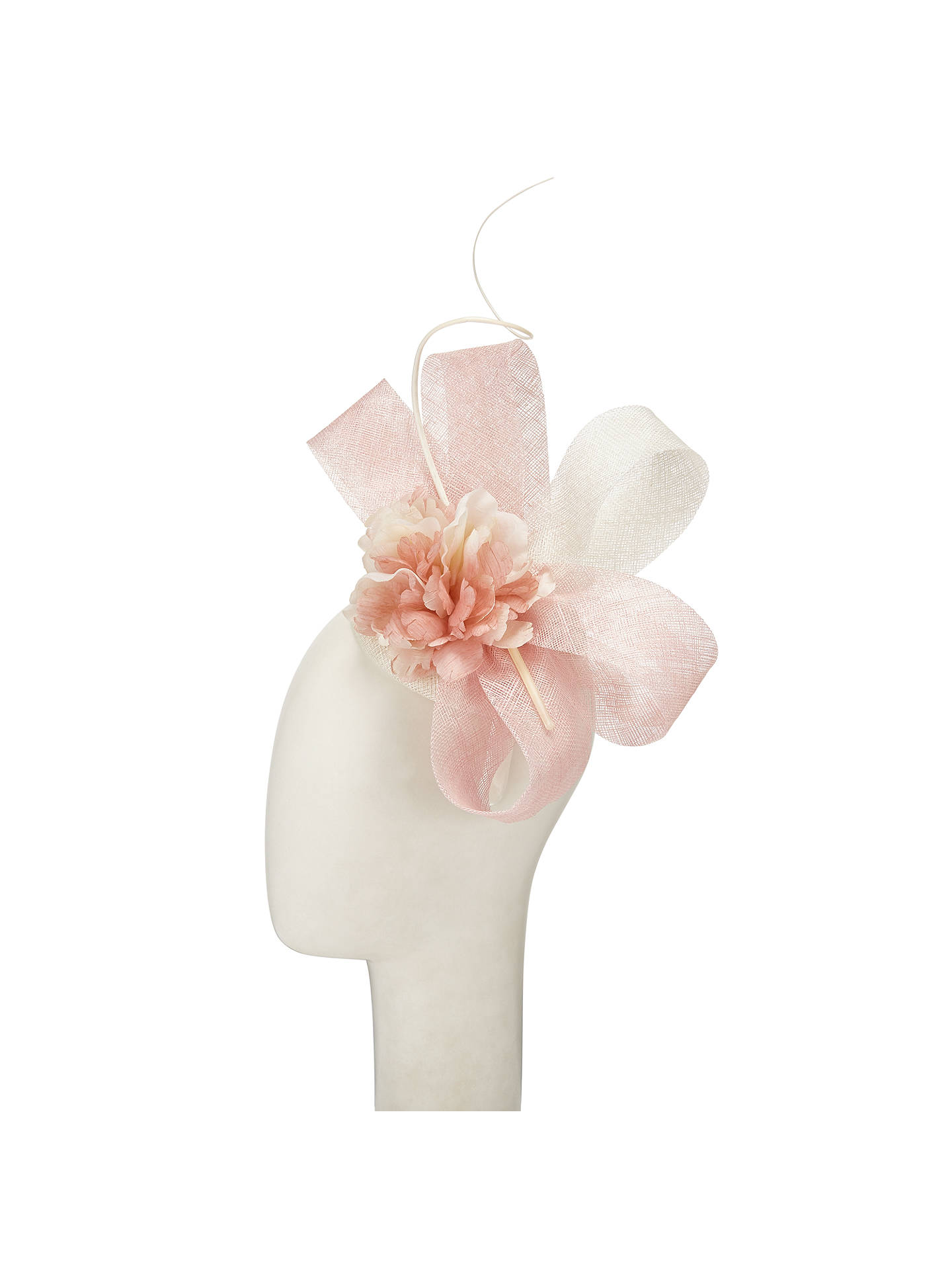 John Lewis Jenny Pillbox Flower Fascinator Ivorypale Pink At John