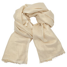 Buy John Lewis Metallic Wool Scarf Online at johnlewis.com