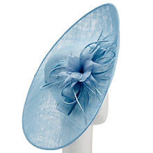 Buy John Lewis Libby Disc and Loops Occasion Hat, Bluebell Blue Online at johnlewis.com
