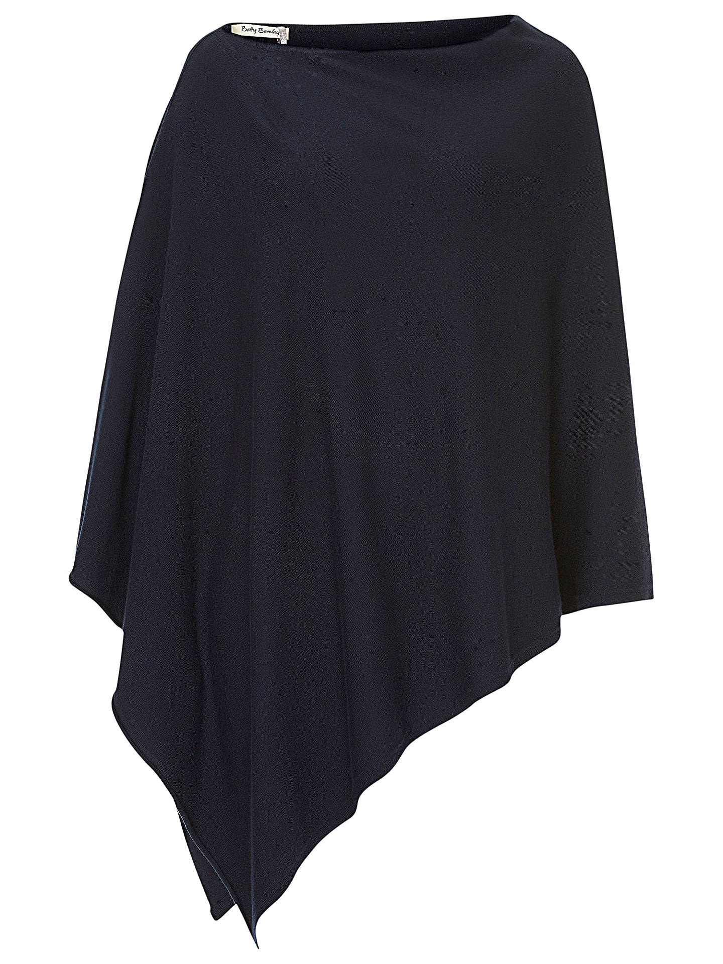 BuyBetty Barclay Knitted Poncho, Dark Sky Online at johnlewis.com