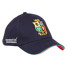 Buy Canterbury of New Zeland Cotton Drill Logo Cap, Navy Online at johnlewis.com