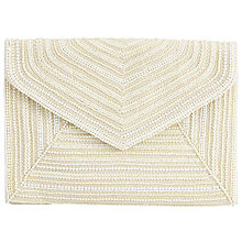 Buy John Lewis Lyra Pearl Clutch Bag, Ivory Online at johnlewis.com