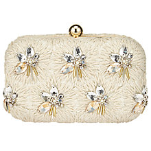 Buy John Lewis Bianca Bead Clutch Bag, Ivory Online at johnlewis.com