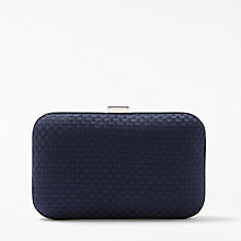 Buy John Lewis Stella Geo Box Clutch Bag Online at johnlewis.com