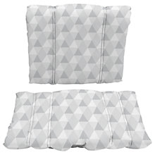 Buy BabyDan Danchair Harmony Cushion, Grey Online at johnlewis.com