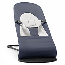 Buy BabyBjörn Bouncer Balance Soft, Fog Blue Online at johnlewis.com