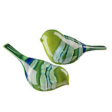 Buy Poole Pottery Maya Birds, Set of 2 Online at johnlewis.com