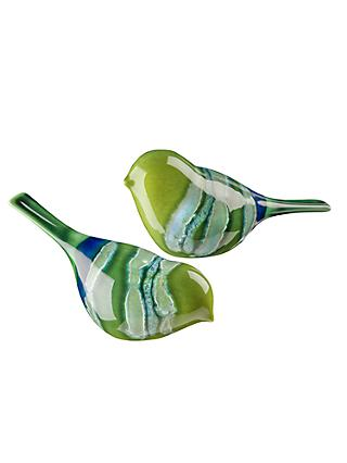 Poole Pottery Maya Birds, Set of 2