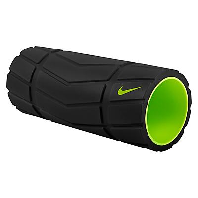 Nike Recovery 13 Foam Roller, Black/Volt