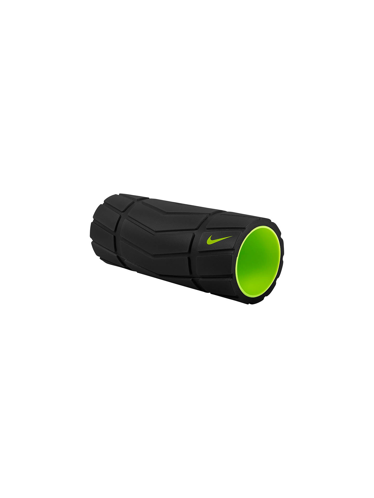 "BuyNike Recovery 13"" Foam Roller, Black/Volt Online at johnlewis.com"