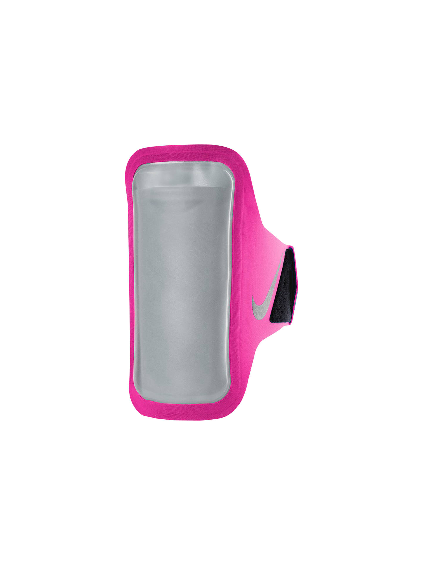Buy Nike Ventilated Armband, Pink/Grey Online at johnlewis.com