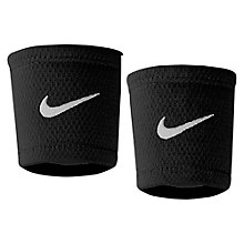 Buy Nike Dri-Fit Stealth Wristband, Black/White Online at johnlewis.com