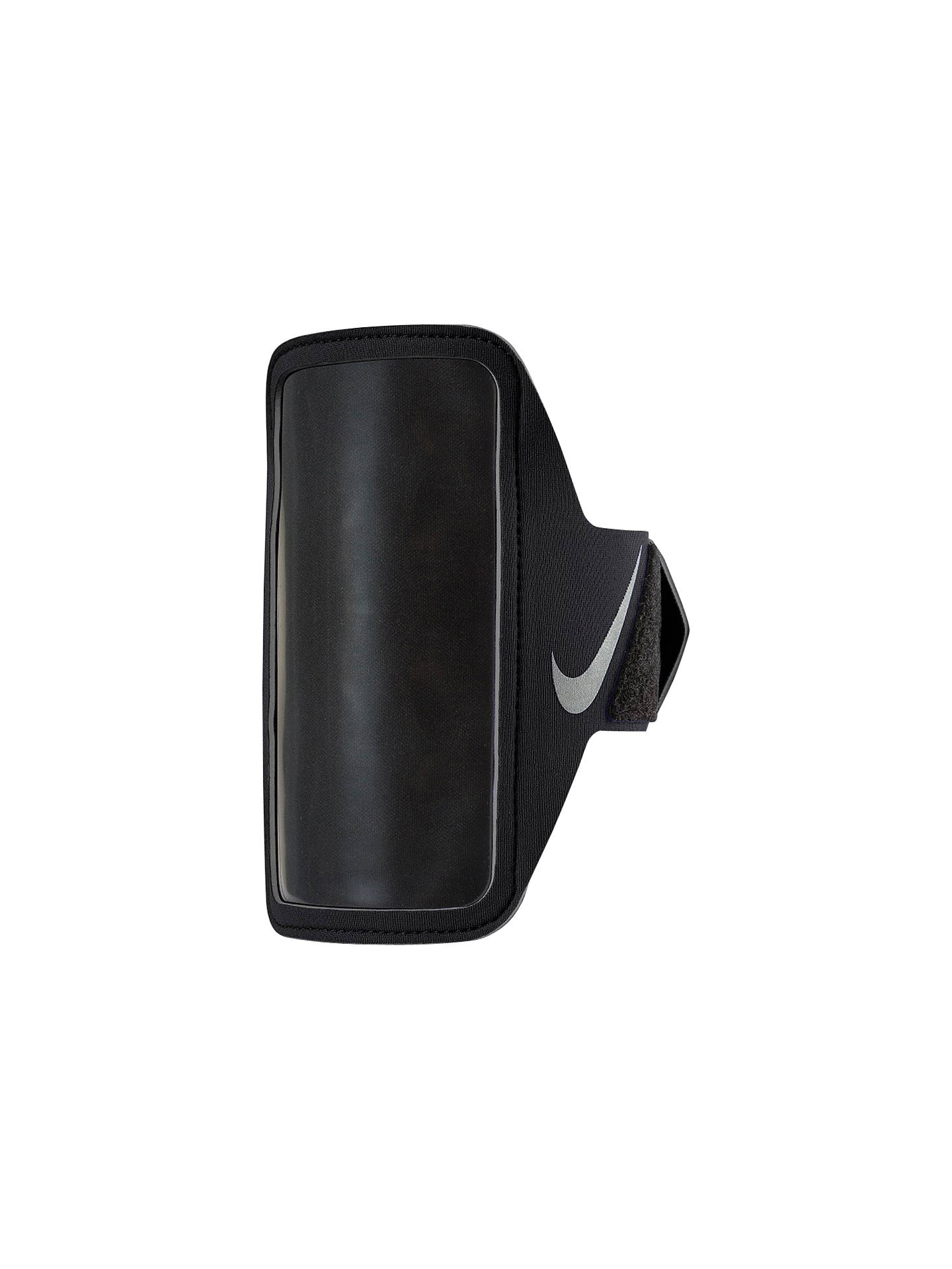 uk availability later great quality Nike Lean Armband, Black/Silver