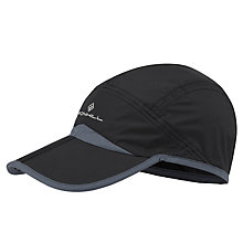 Buy Ronhill Split Running Cap, One Size, Black Online at johnlewis.com