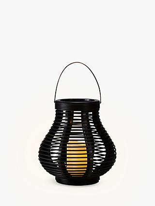 John Lewis & Partners Large LED Cabot Bell Outdoor Lantern, Brown