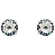 Buy Monet Glass Crystal Stud Earrings Online at johnlewis.com