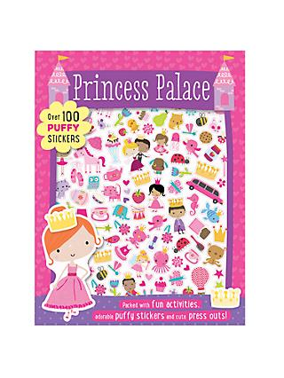 Princess Palace Sticker and Activity Book