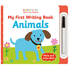 Buy My First Writing Book Animals Children's Book Online at johnlewis.com