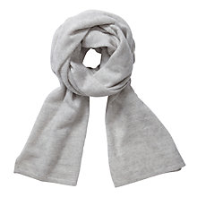 Buy Pure Collection Meredith Scarf, Iced Grey Online at johnlewis.com