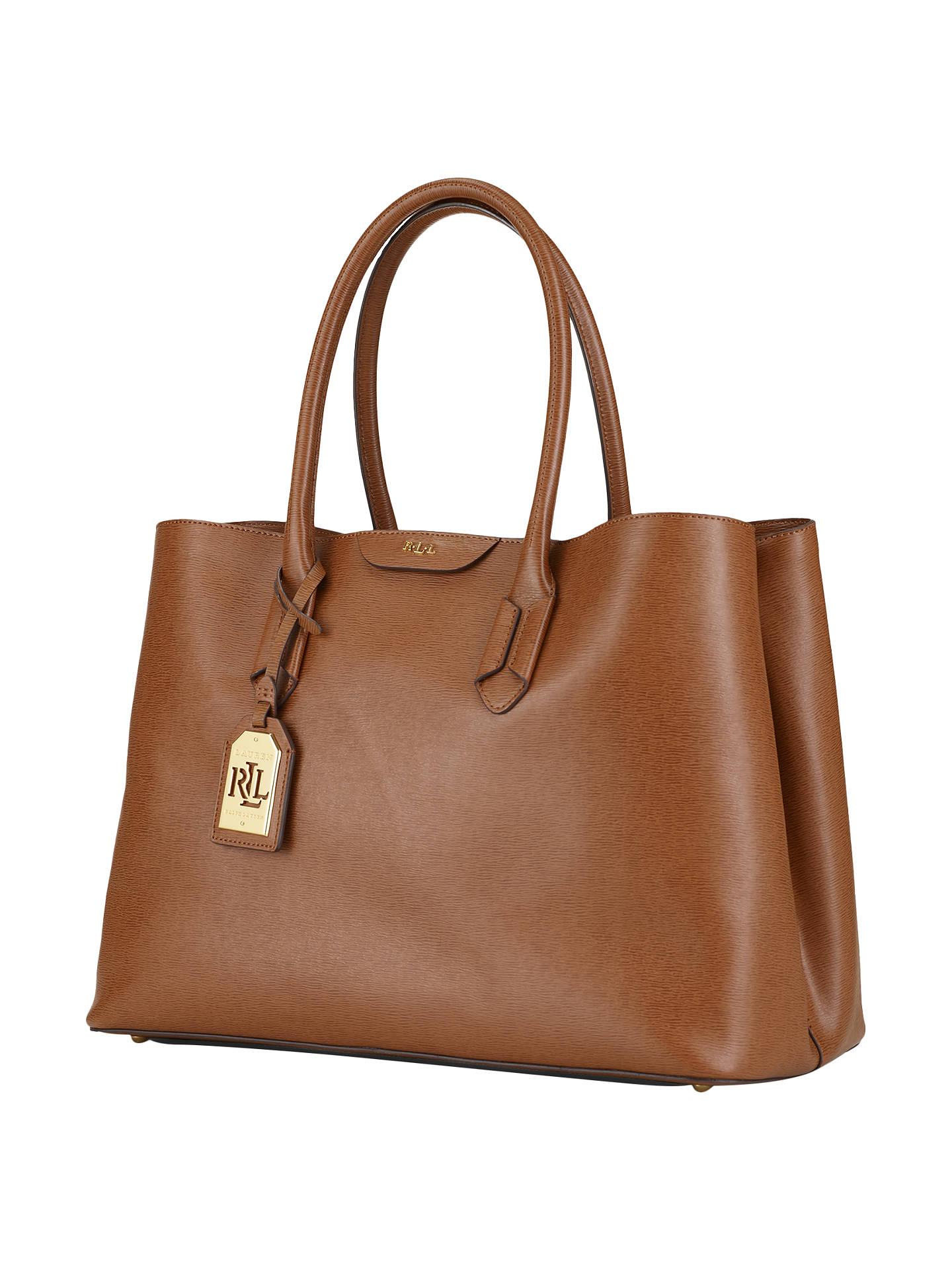 f1e70189a0c BuyLauren Ralph Lauren City Tote Bag, Lauren Tan Online at johnlewis.com ...