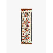 Buy John Lewis Manisa Kelim Runner, L240 x W70cm Online at johnlewis.com