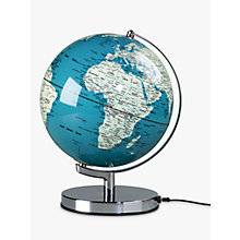 "Buy Wild & Wolf Light Up 10"" Globe, French Blue Online at johnlewis.com"