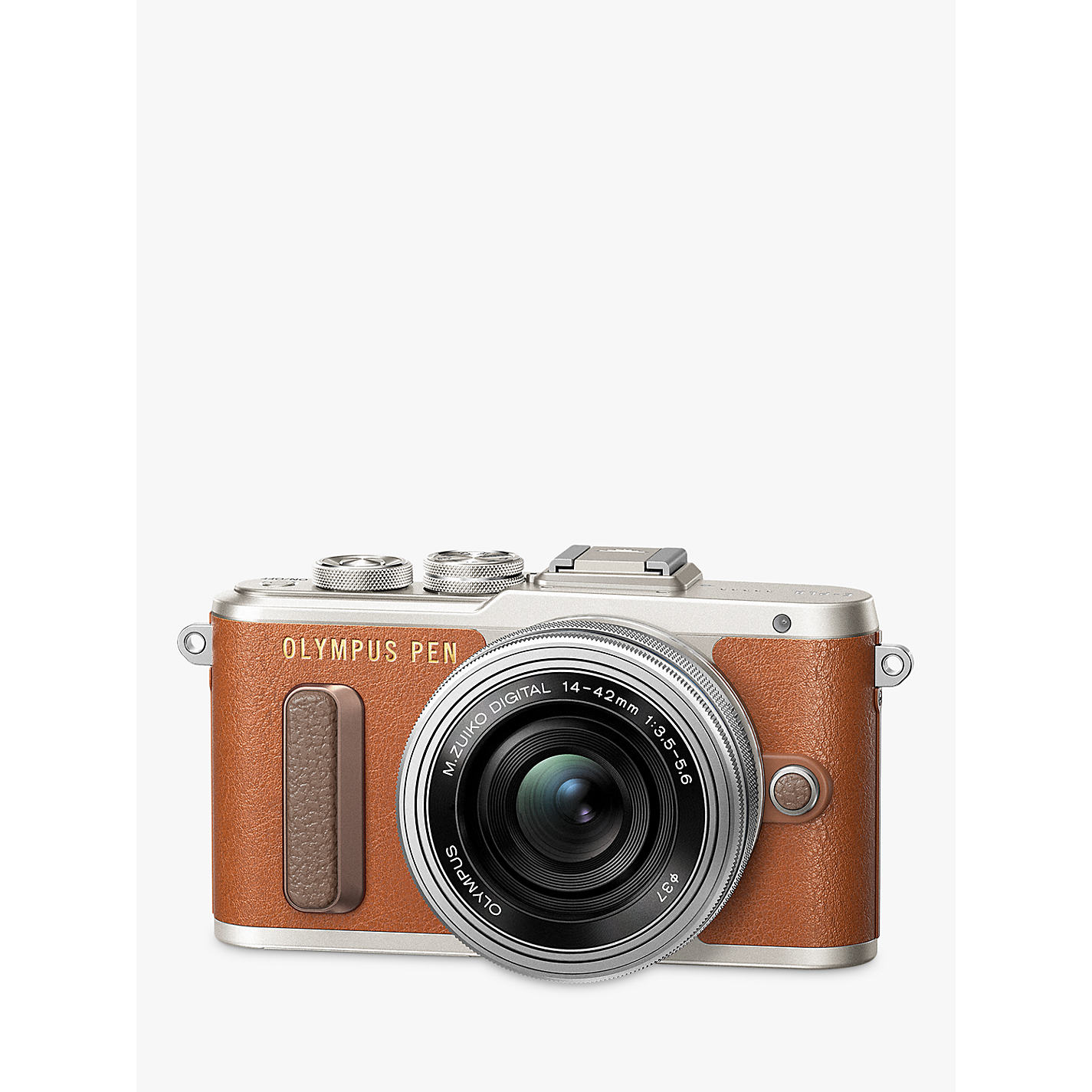 Buy Olympus PEN E-PL8 Compact System Camera with 14-42mm EZ Lens ...
