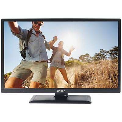 Linsar 24LED1700 LED HD Ready 720p Smart TV, 24 with Built-In Wi-Fi, Freeview HD & Freeview Play