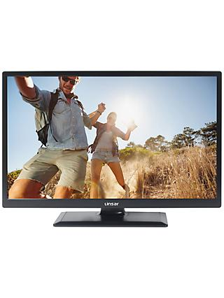 "Linsar 24LED1700 LED HD Ready 720p Smart TV, 24"" with Built-In Wi-Fi, Freeview HD & Freeview Play"