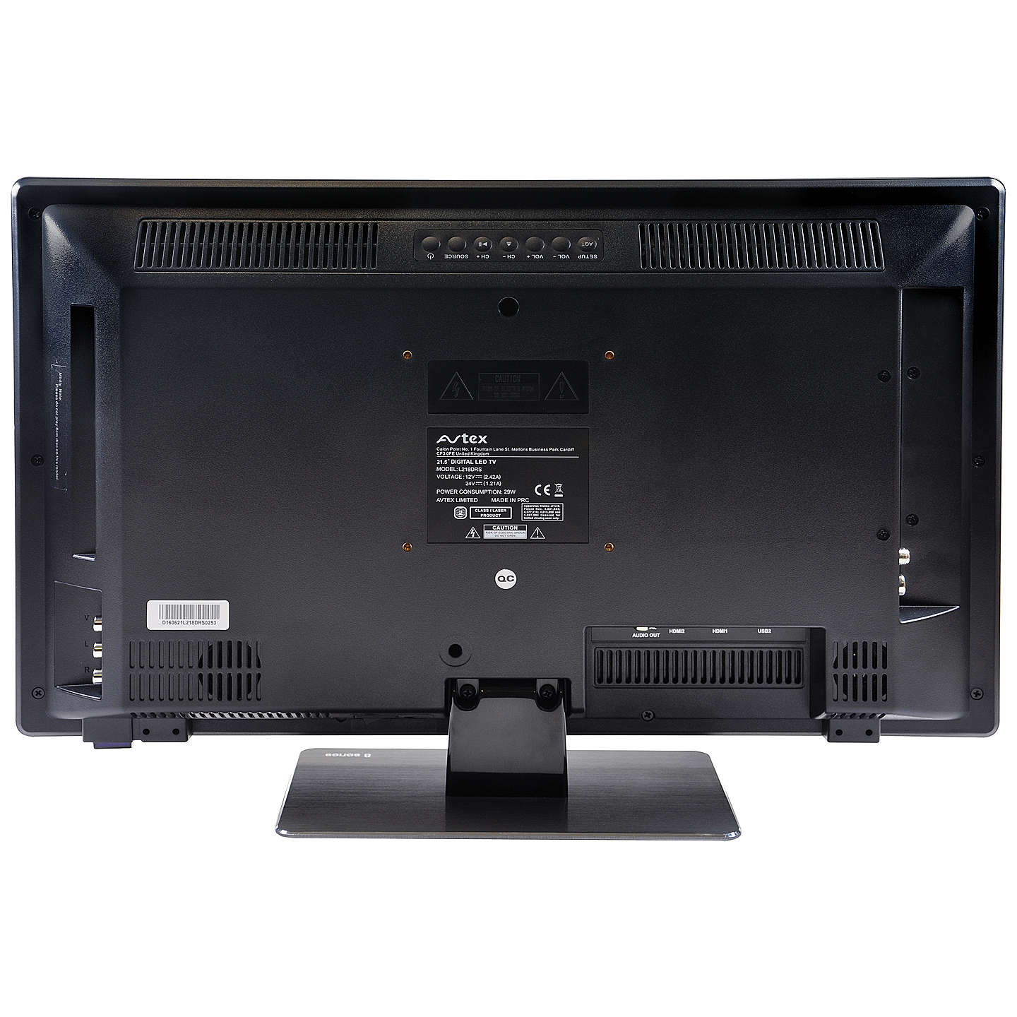 "BuyAvtex L218DRS LED Full HD 1080p TV/DVD Combi, 21.5"" with Freeview HD Online at johnlewis.com"