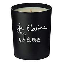 Buy Bella Freud Je t'aime Jane Candle, 190g Online at johnlewis.com
