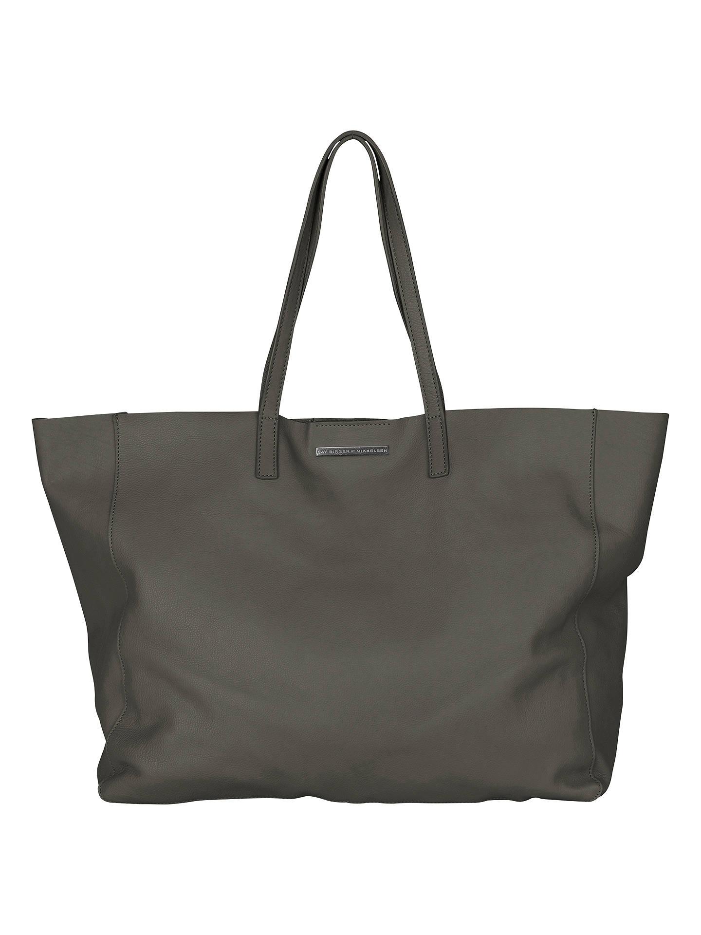 Et DAY Birger et Mikkelsen It Leather Shopper Bag at John Lewis ... 544aa50a5