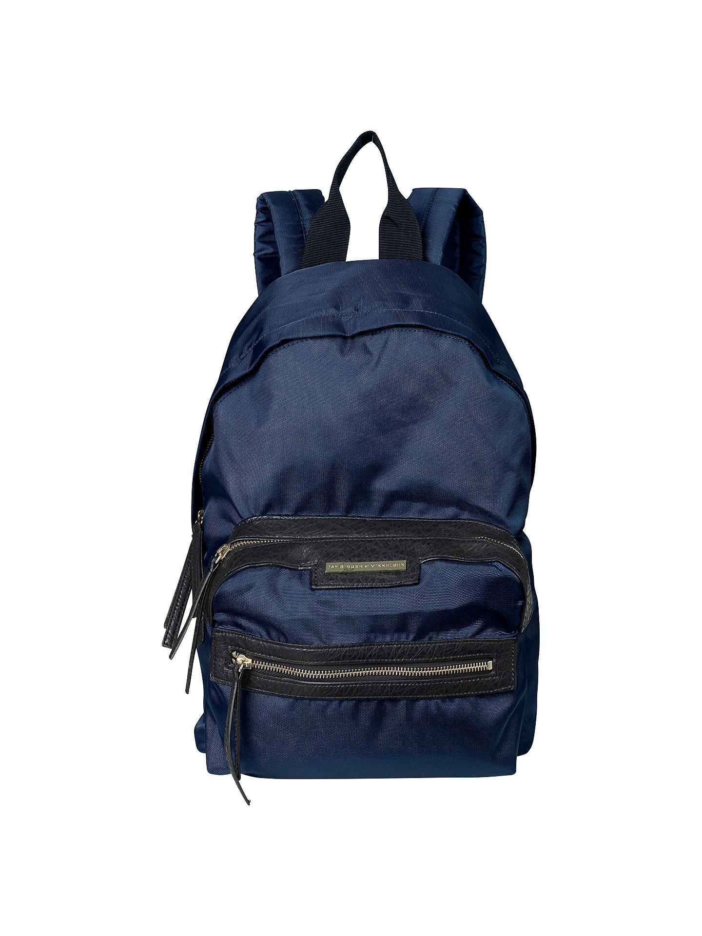 8c68df044690 Buy Et DAY Birger et Mikkelsen Zipper Backpack, Midnight Blue Online at  johnlewis.com ...
