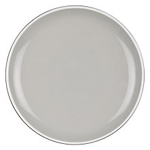Buy John Lewis Puritan Tapas Plate, Grey Online at johnlewis.com