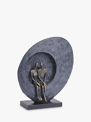 Libra Abstract Couple Seated Sculpture