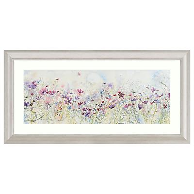 Catherine Stephenson – Meadow Of Wild Flowers Embellished Framed Print, 110 x 55cm