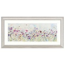 Buy Catherine Stephenson - Meadow Of Wild Flowers Embellished Framed Print, 110 x 55cm Online at johnlewis.com