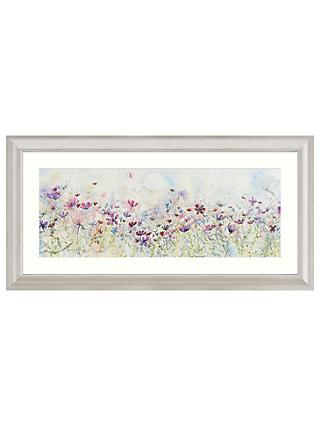 Catherine Stephenson - Meadow Of Wild Flowers Embellished Framed Print, 110 x 55cm