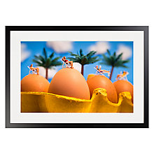 Buy David Gilliver - Incubation Framed Print, 70 x 50cm Online at johnlewis.com