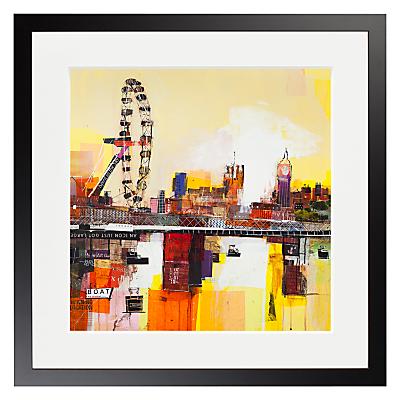 Ben Phillips – The Eye Of London Framed Print, 50 x 50cm