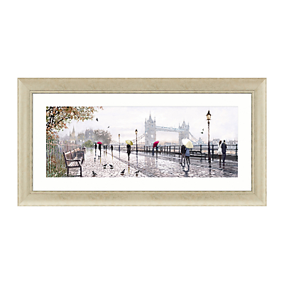 Richard Macneil – Tower Bridge Framed Print, 112 x 57cm