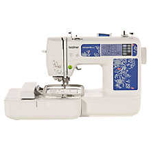 Buy Brother Innov-Is 97E Embroidery Machine, White Online at johnlewis.com