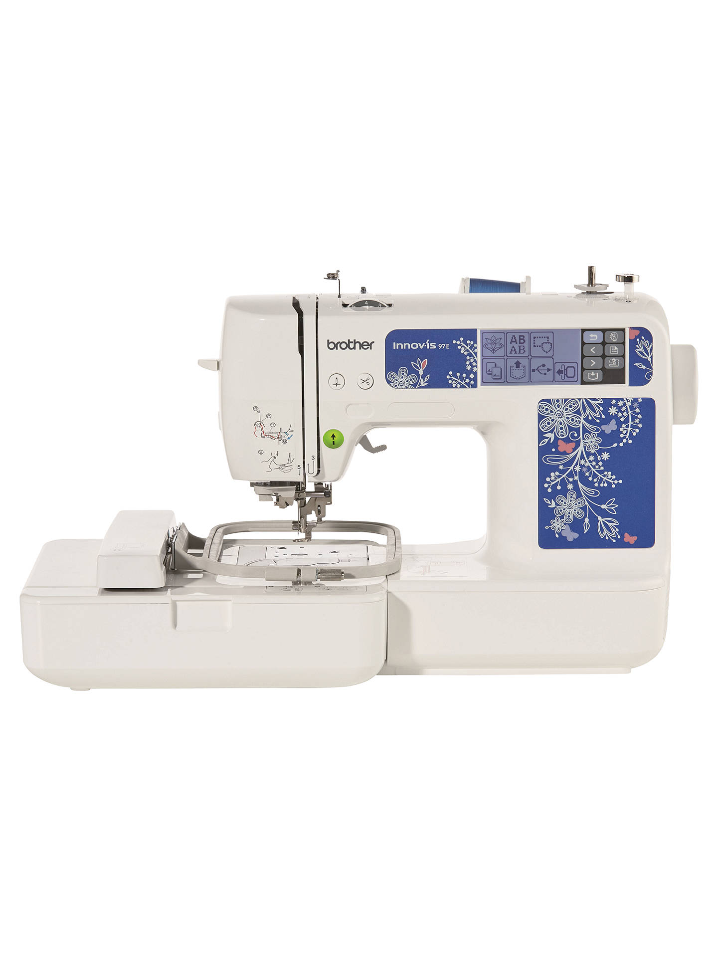 Brother Innov-Is 97E Embroidery Machine, White