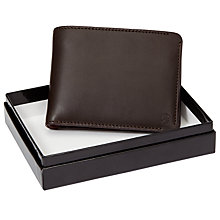 Buy Paul Smith Leather Bifold Coin Wallet, Brown Online at johnlewis.com