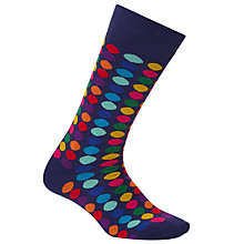 Buy Paul Smith Multicoloured Polka Dot Socks, One Size, Multi Online at johnlewis.com
